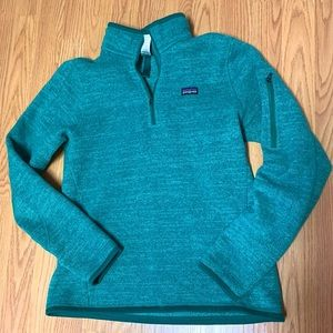Patagonia 1/4 best sweater - small